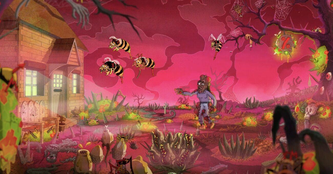 Evin Üstüne Kabus Gibi Çöken Dev Arılar