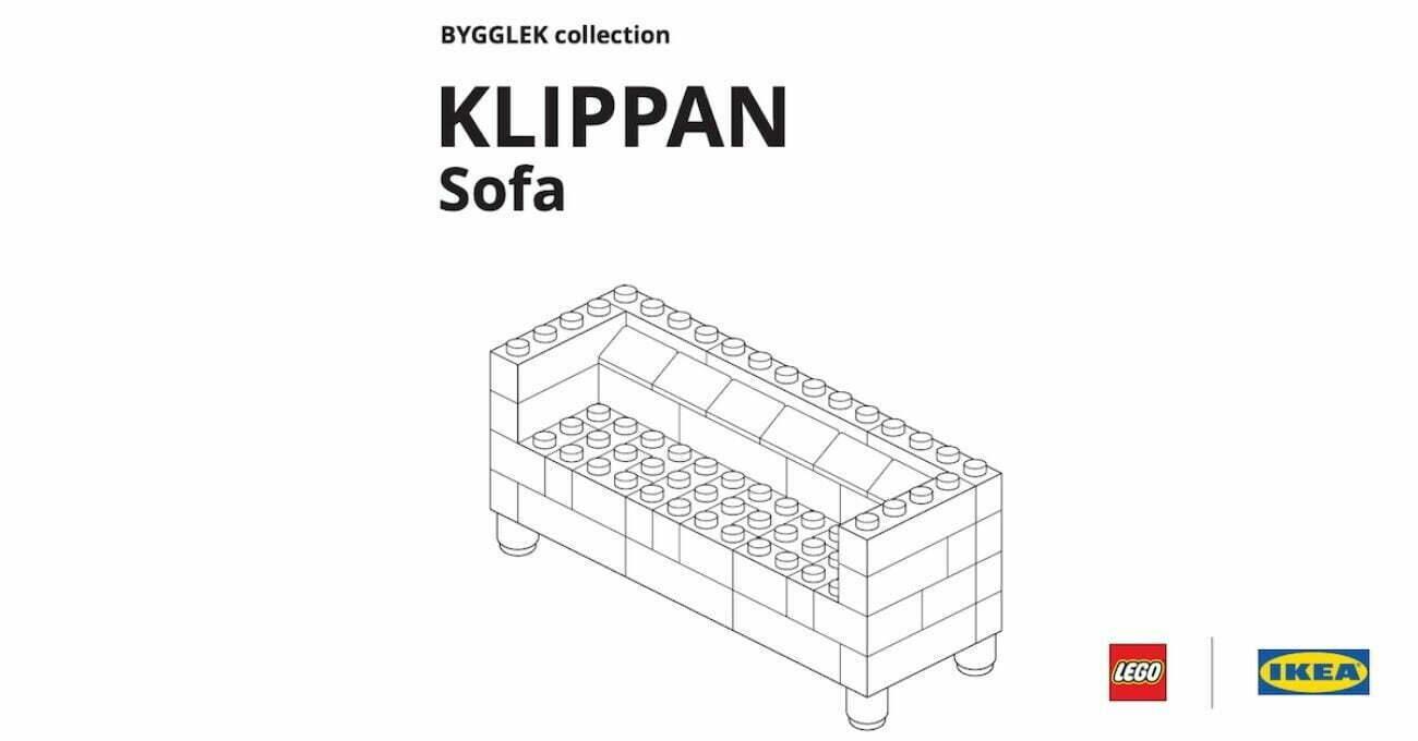 LEGO Mobilyalar Yapmak İsteyenlere IKEA'dan Montaj Kılavuzları