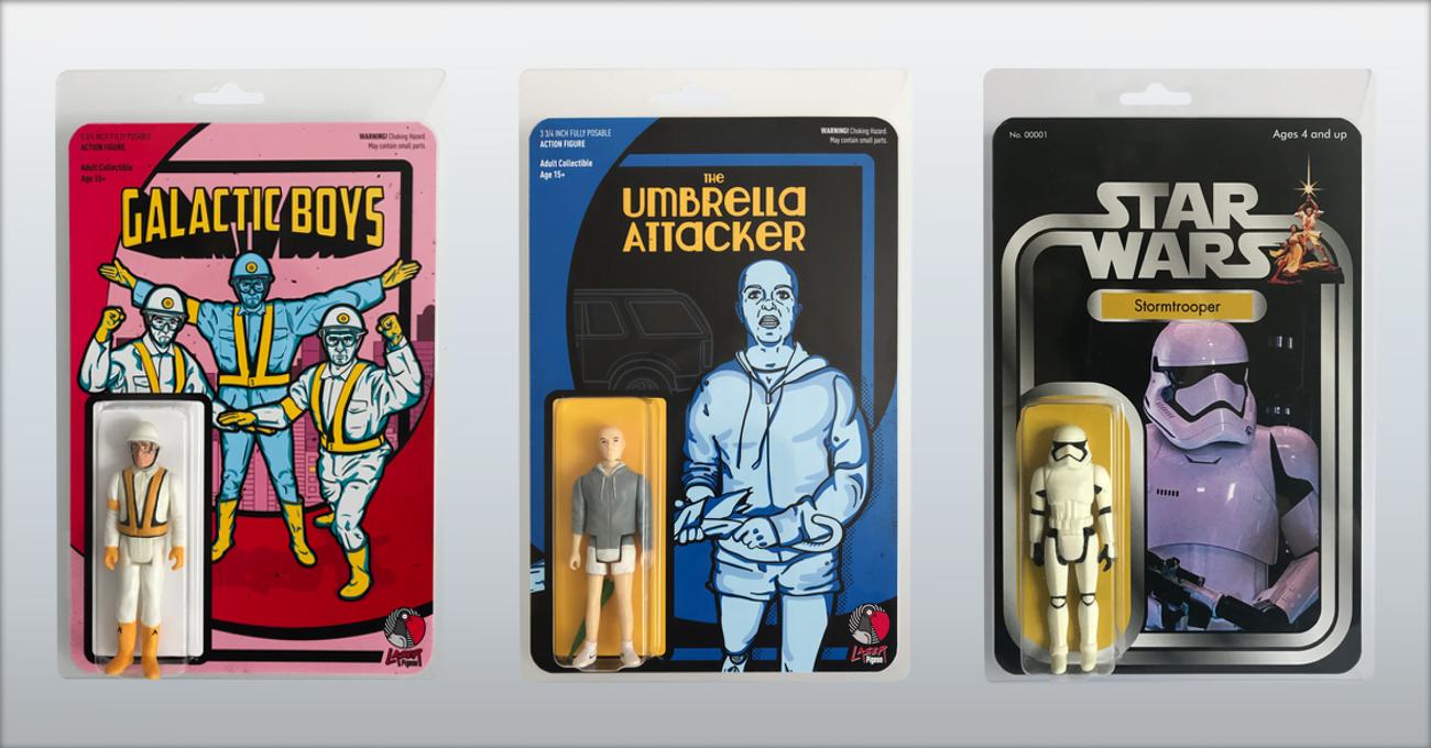 LaserPigeon'ın Zıpır Bootleg Figürleri
