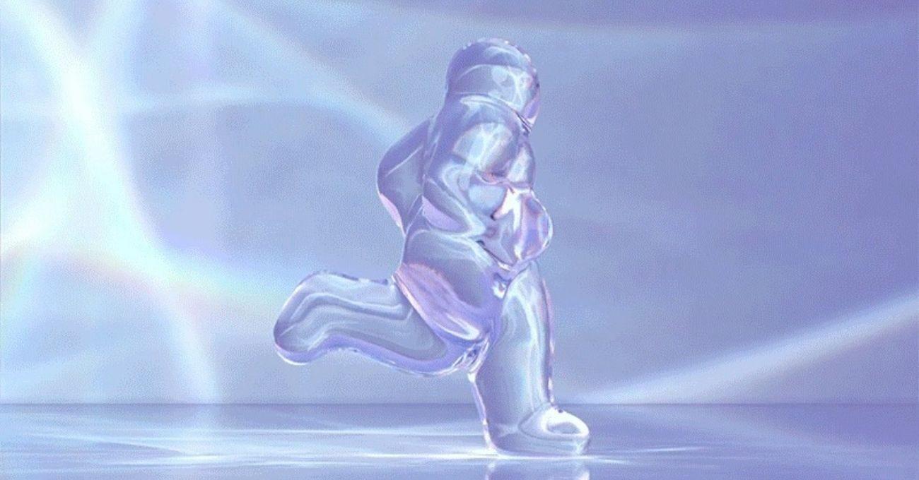 Sonsuzluğa Koşan Figür