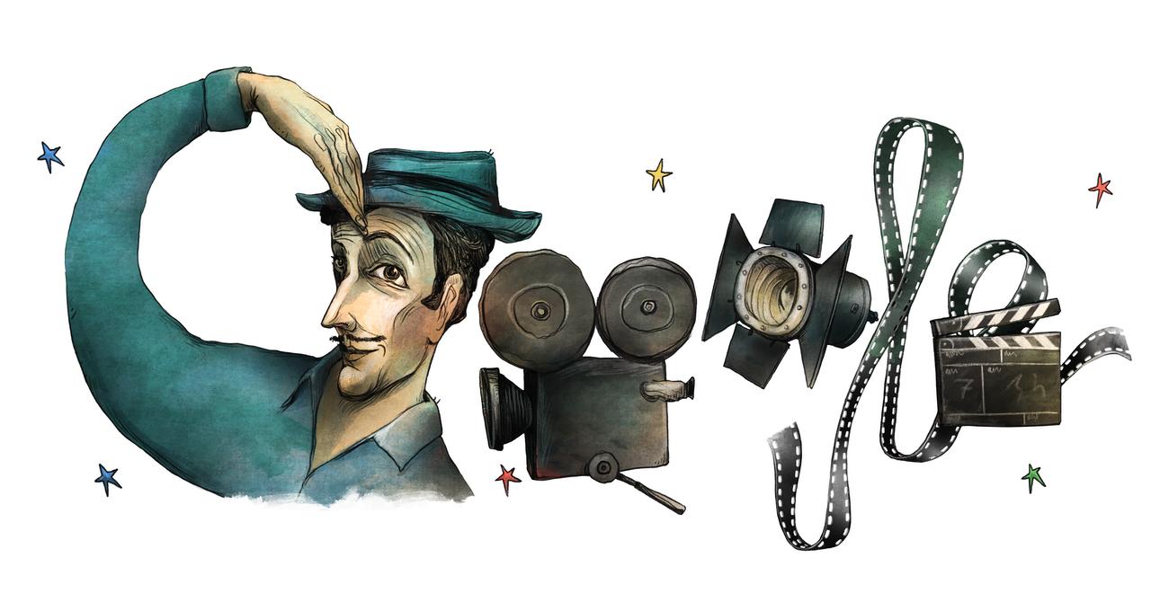 Doodle'lar ve Çizerleri: Sedat Girgin'in Kaleminden Sadri Alışık Doodle'ı