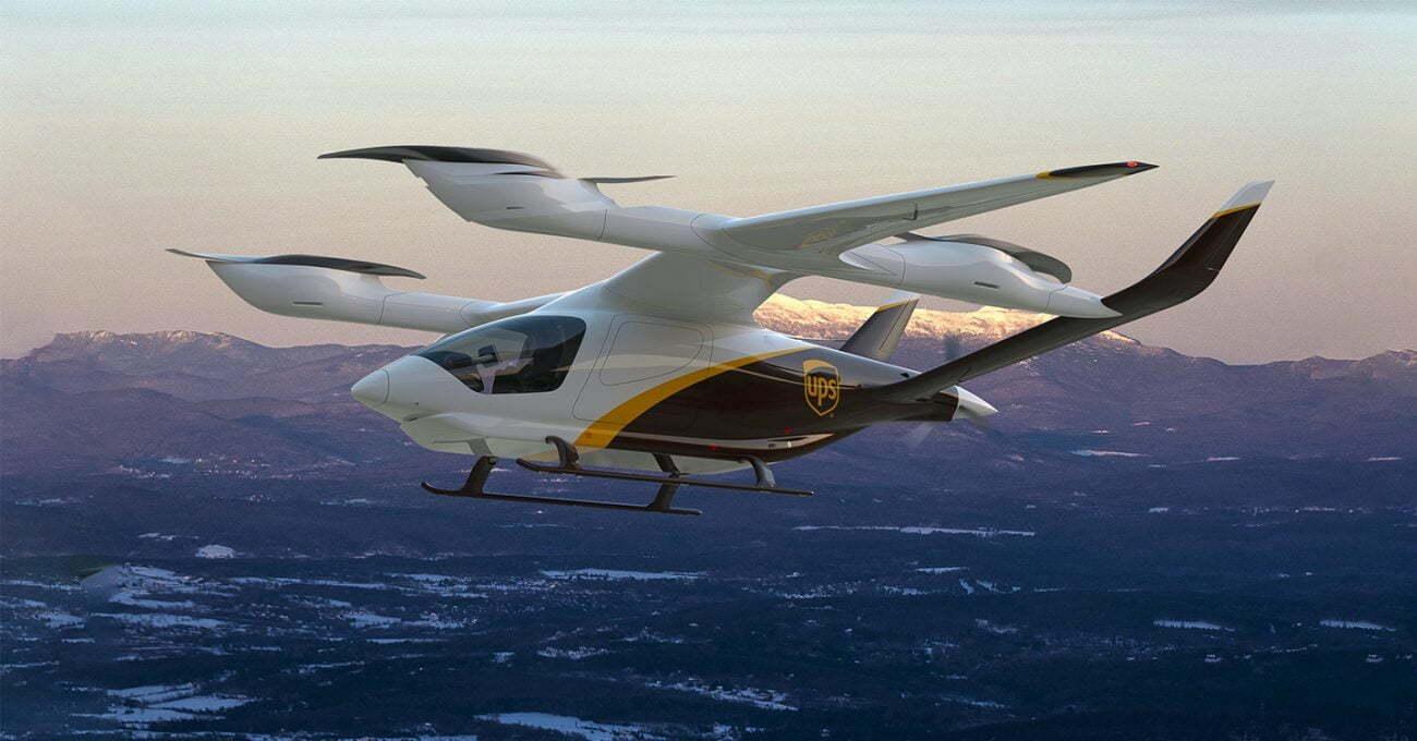 UPS 2024'te eVTOL aracılığıyla teslimatlara başlayacak