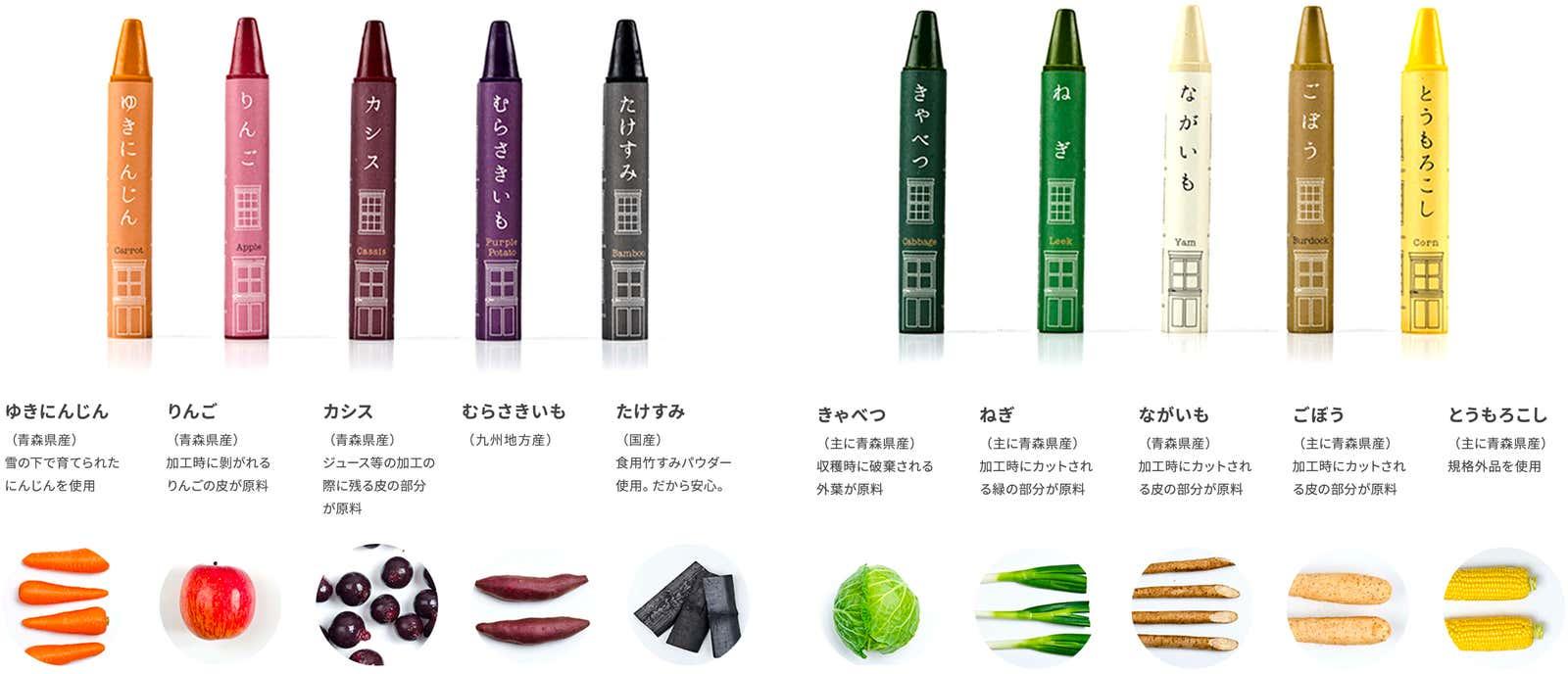 Oyasai Crayon