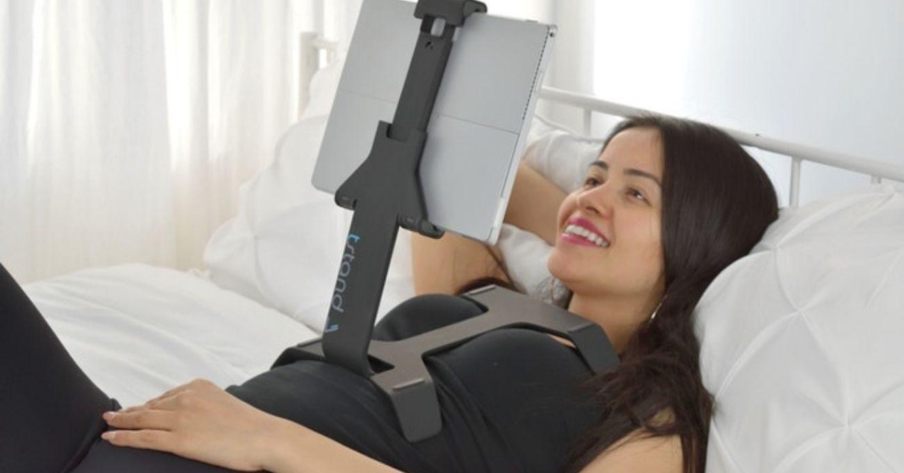 Tablet ve Telefon için Yatak Standı