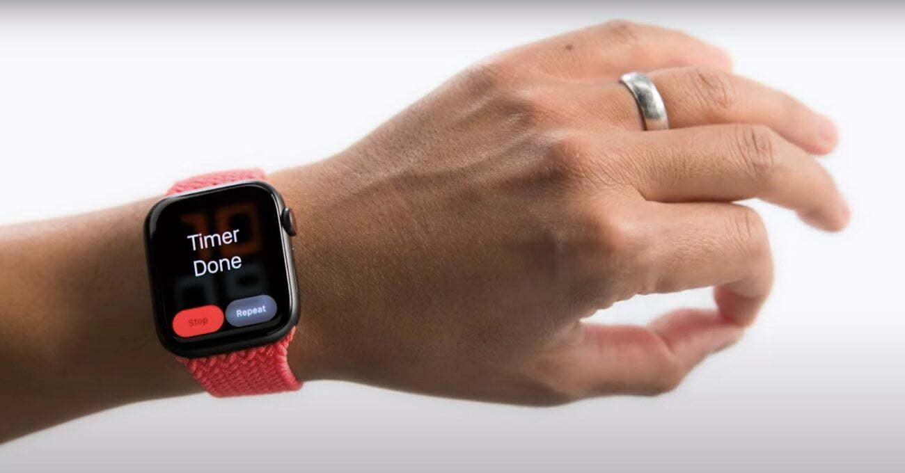 Apple Watch'a El Hareketi ile Kontrol Özelliği