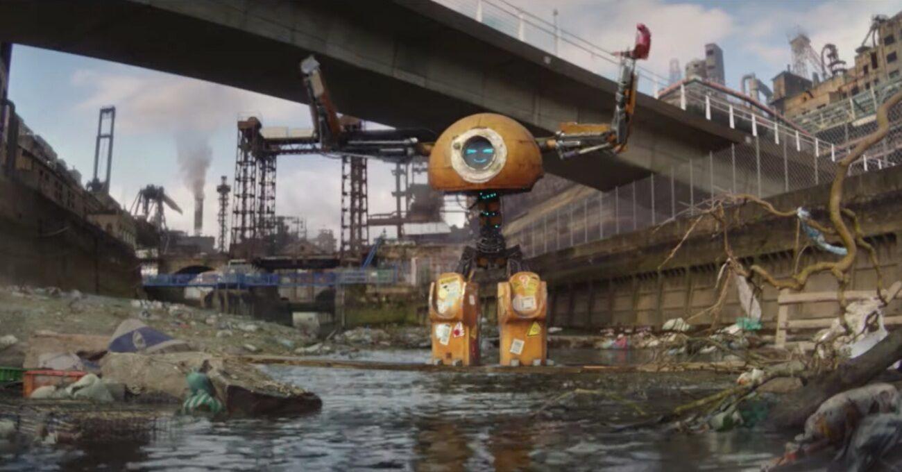 Gezegenin İyiliği için Mücadele Eden Sevimli Robot