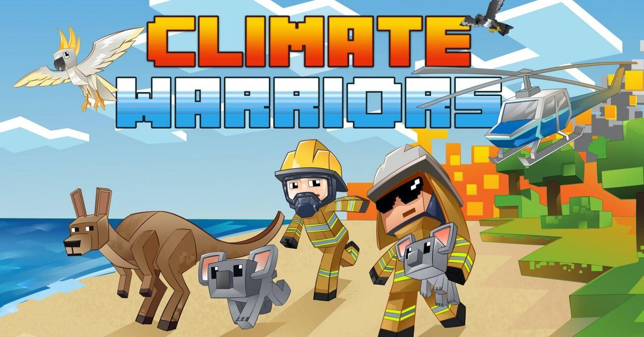 İklim Savaşçıları Minecraft'ta