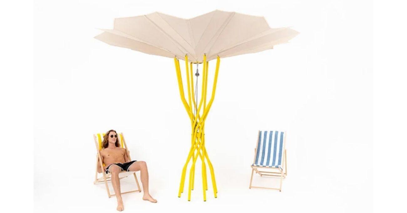 Bu Şemsiye Aynı Zamanda Güneş Enerjili Bir Buzdolabı