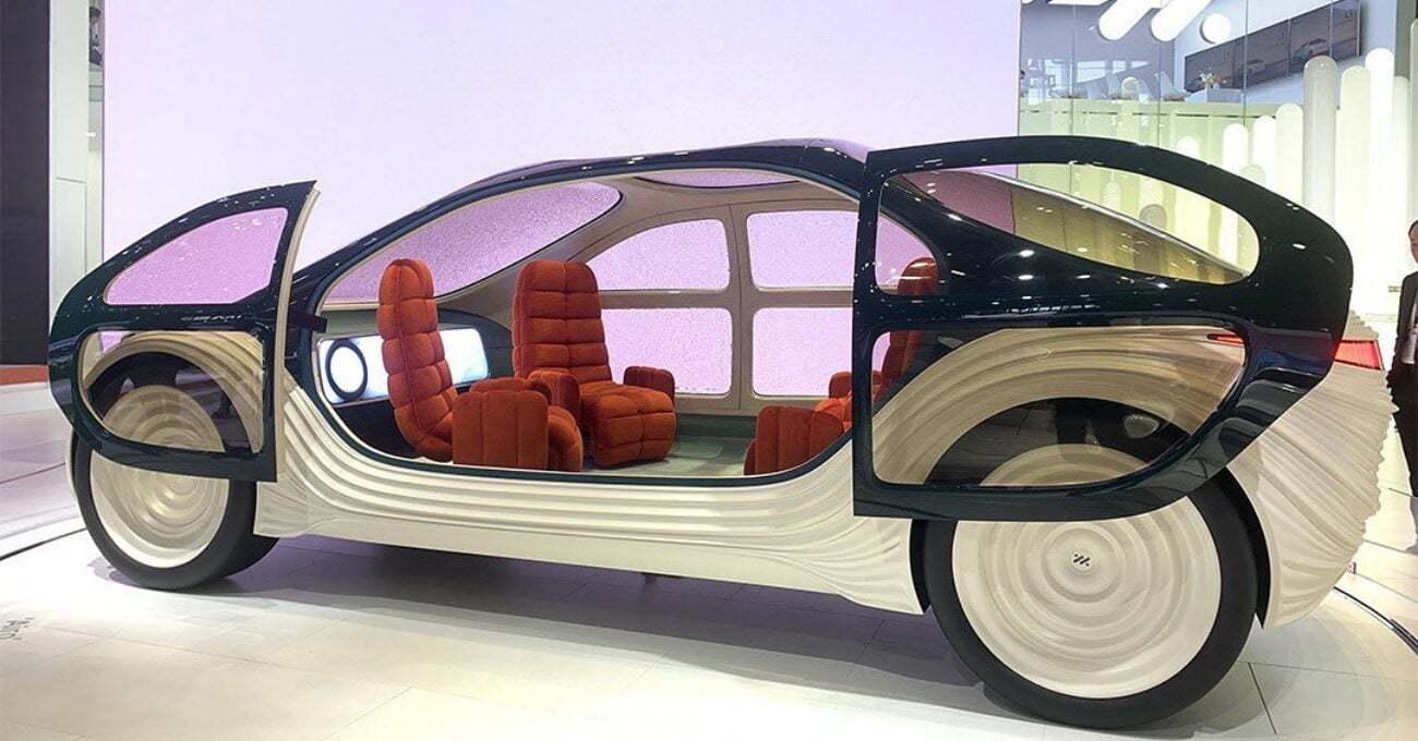 Diğer Araçların Kirliliğini Temizleyen Elektrikli Otonom Otomobil: AIRO
