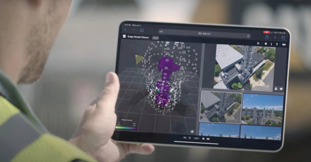 Gerçek Zamanlı 3B Model Çıkaran Otonom Drone