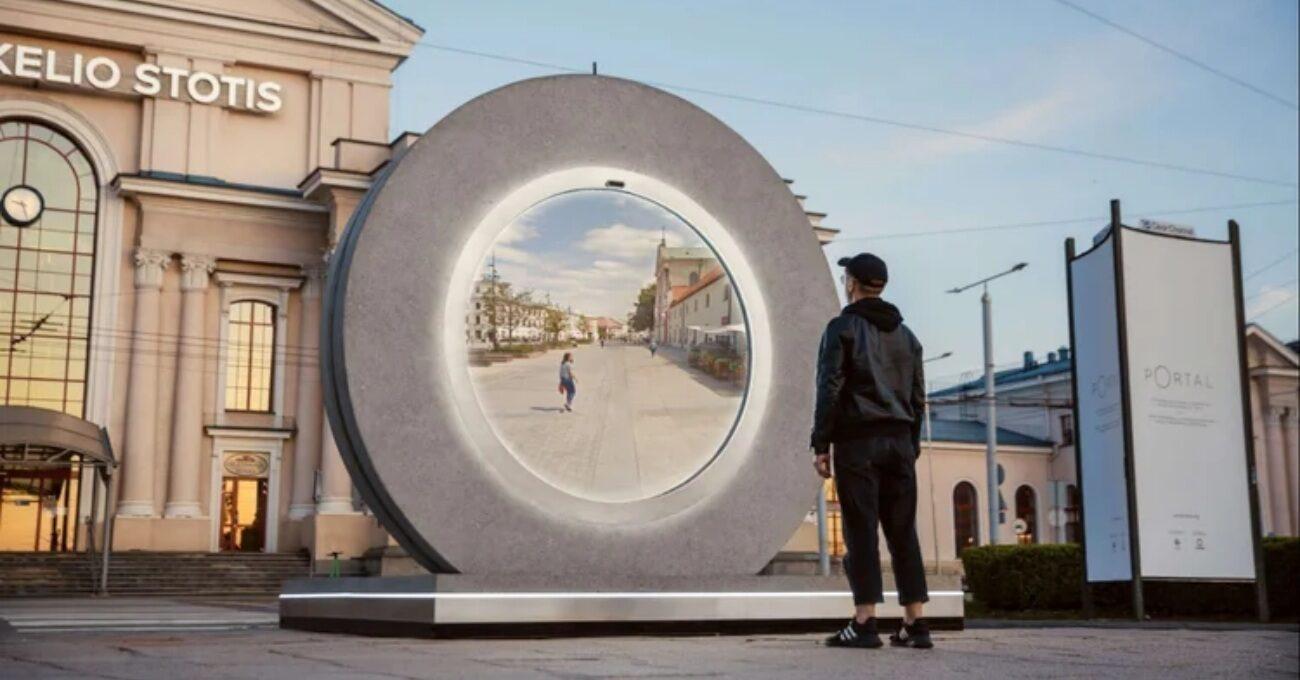 İki Şehri Bağlayan Portal