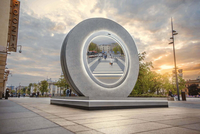 İki Şehri Bağlayan Portal • Bigumigu
