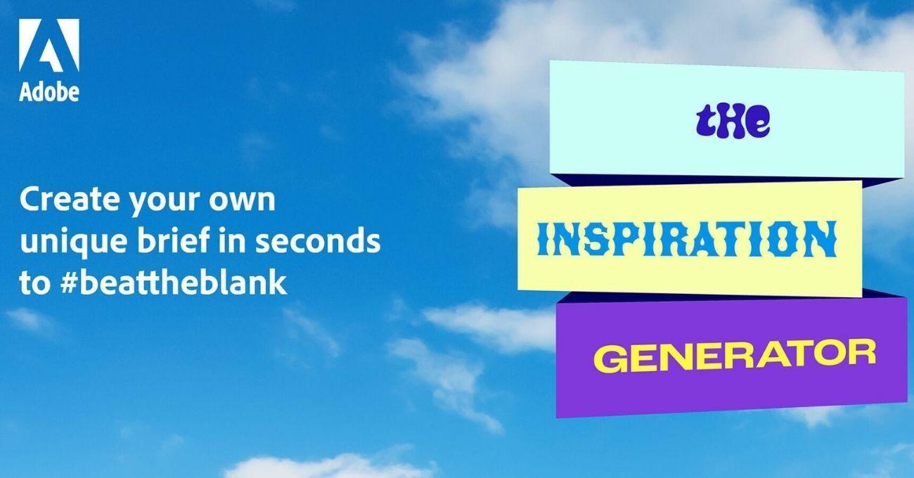 İlham Kaynakları Tükenenler İçin Adobe'dan Inspiration Generator