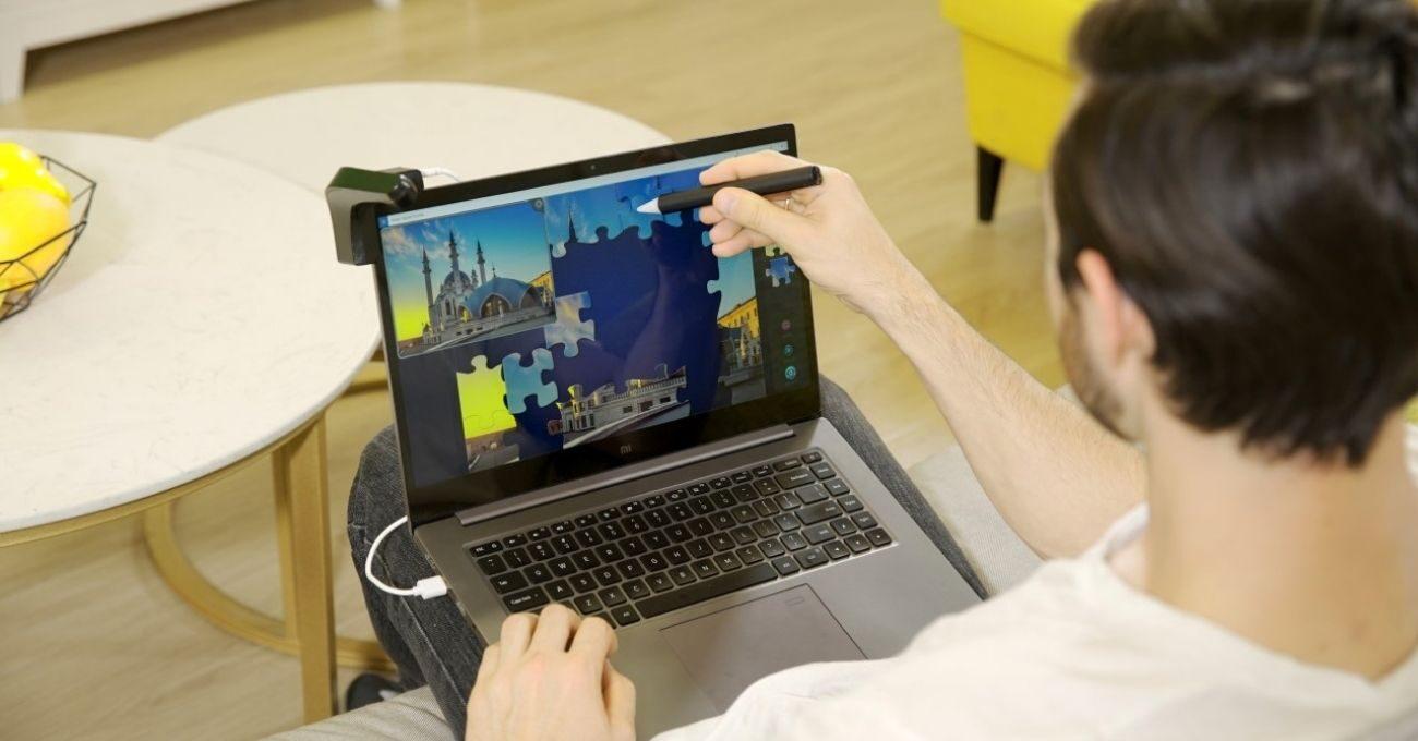 Bu Cihaz Tüm Bilgisayar Ekranlarını Dokunmatik Ekrana Dönüştürüyor