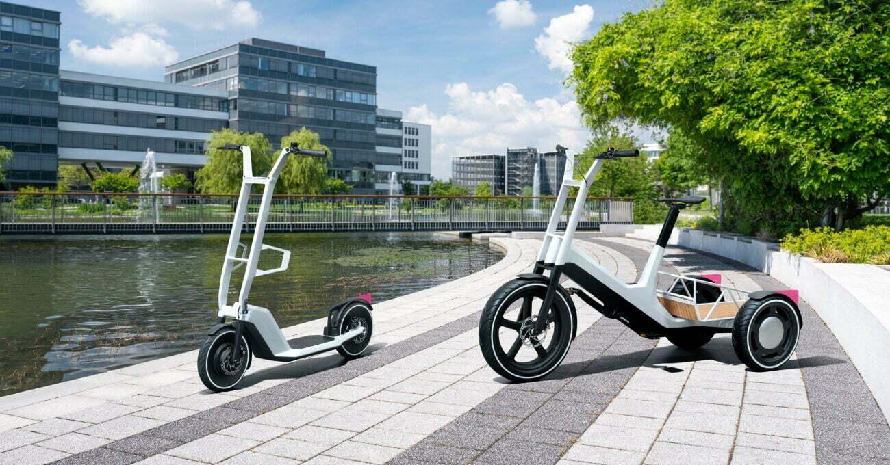 BMW'den Elektrikli Scooter ve Elektrikli Kargo Aracı