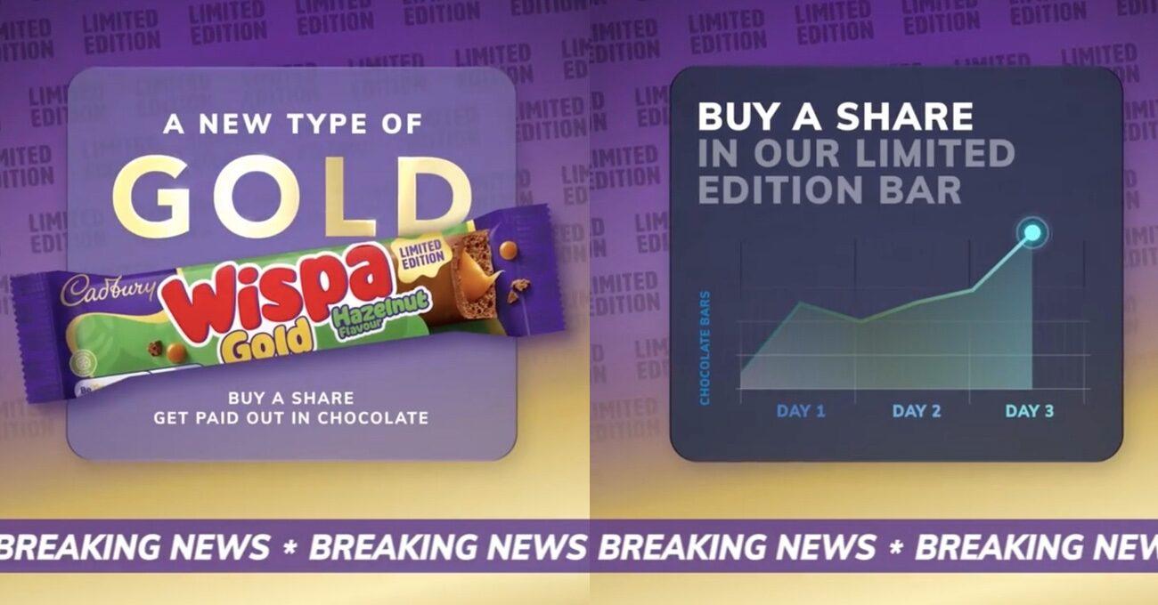 Cadbury Yeni Çikolatası için Hevesli Yatırımcıları Bekliyor