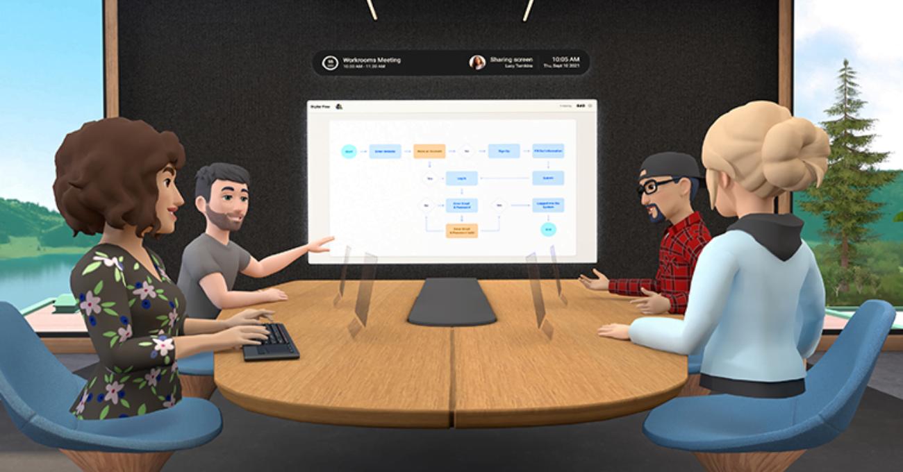 Facebook Horizon Workrooms ile Ofisi Sanal Gerçekliğe Taşıyor