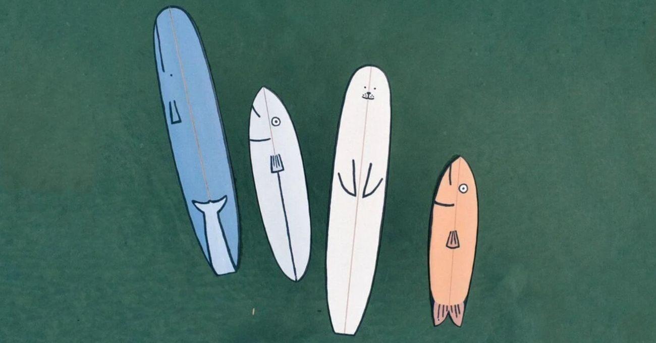 Jean Jullien'den Sörf Tahtaları