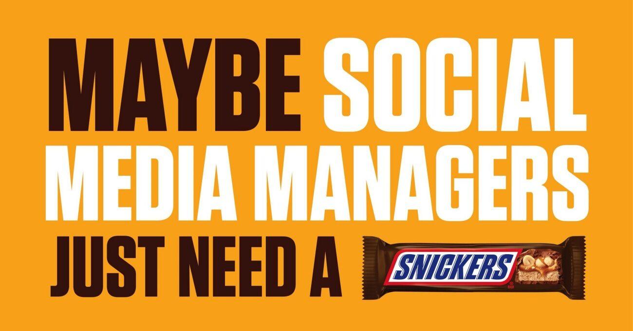 Fleets'in Kaldırıldığını Unutan Sosyal Medya Yöneticisi Bir SNICKERS İster Misin?