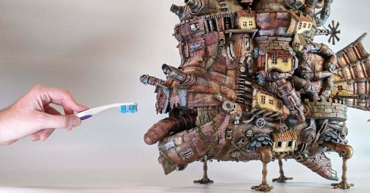 Çöpler Minyatür Modellere Dönüşüyor