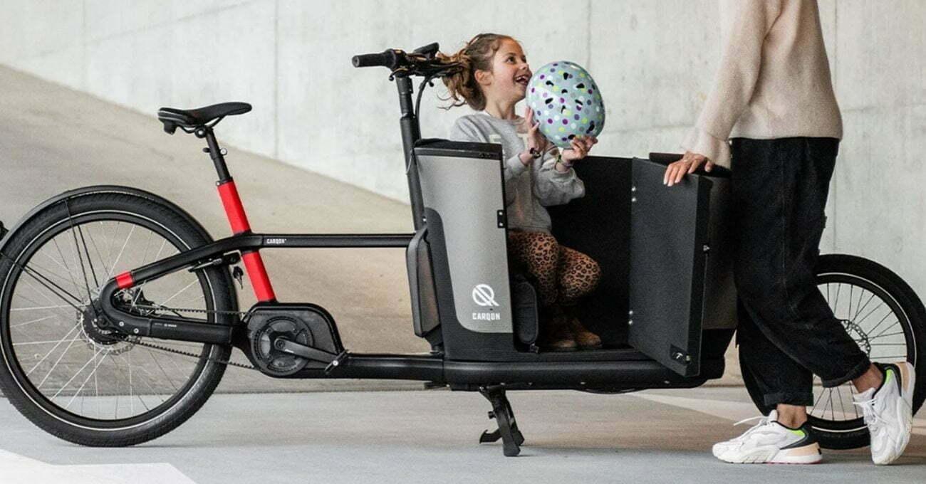 Çocuklu Aileler İçin Elektrikli Kargo Bisikleti