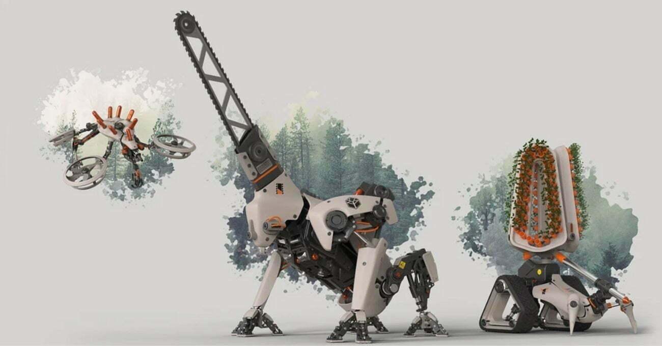Ormanları İyileştiren Robot Korucular