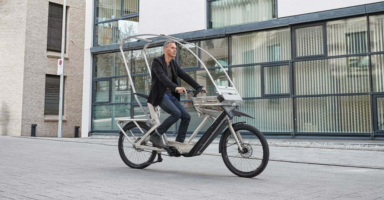Her Zaman Yağmura Hazır Bir Elektrikli Bisiklet