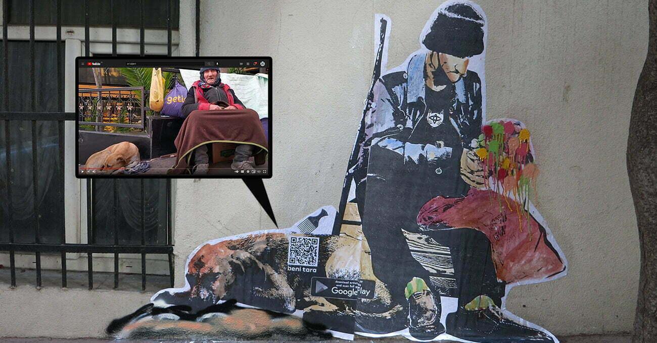 Cihangir'deki Osman Amca'nın Duvardan Dijitale Hikayesi