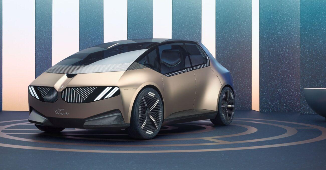 BMW'den Yüzde 100 Geri Dönüştürülebilir Elektrikli Otomobil