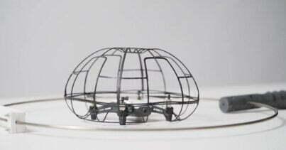 drone badminton
