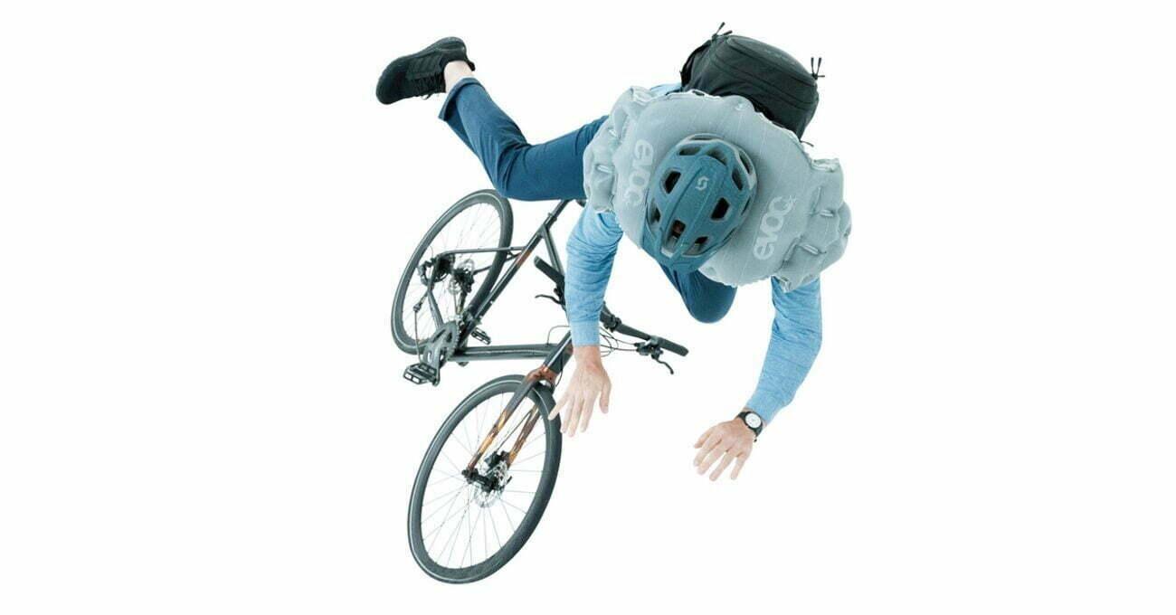 Bisiklet Sürücüleri için Hava Yastıklı Sırt Çantası