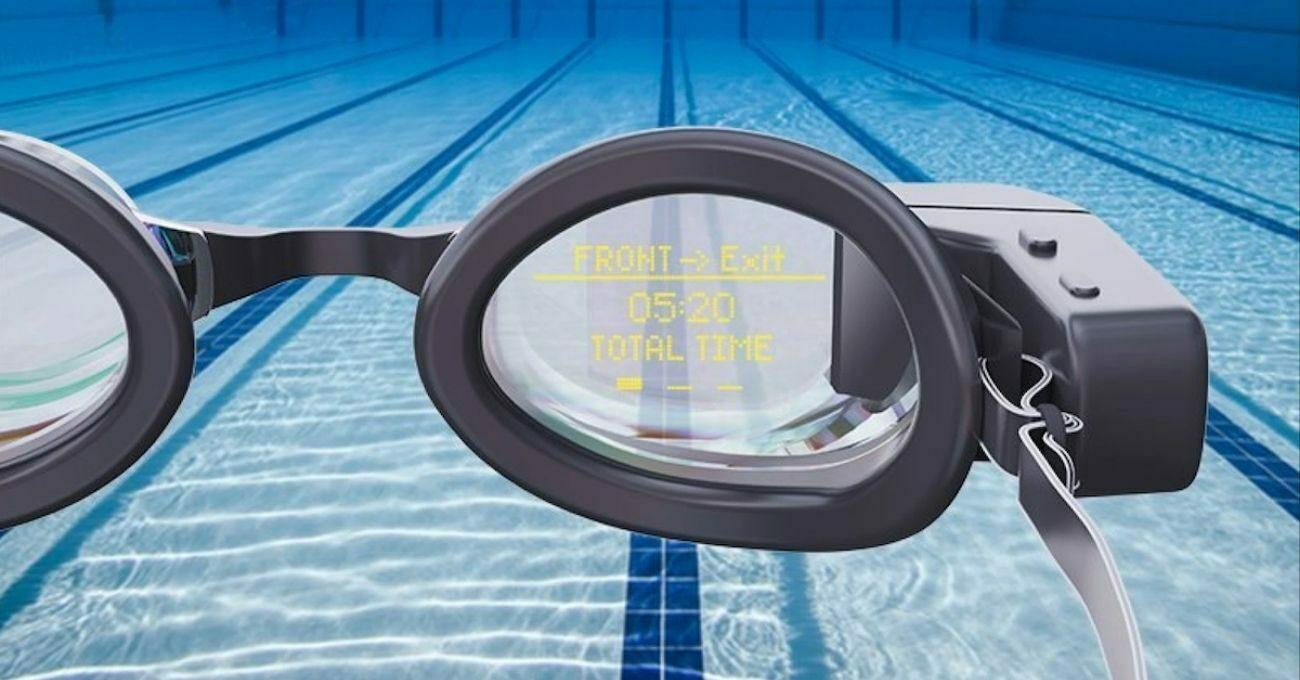 Yüzücü Gözlüğünde Artırılmış Gerçeklik Teknolojisi