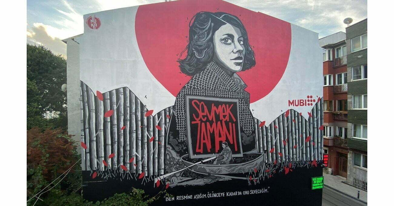Kadıköy Sokaklarında Sevmek Zamanı Muralı