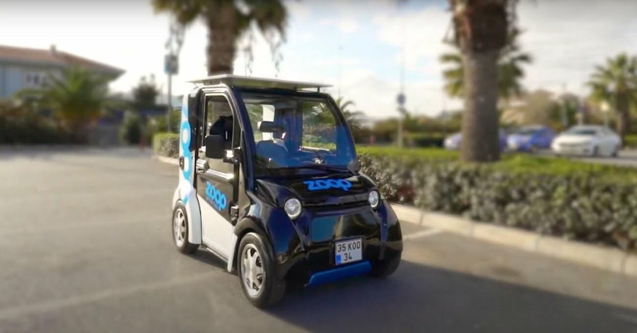 Paylaşımlı Elektrikli Mini Araç: Zoop