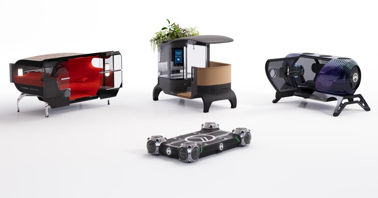 4 Tekerlekli Otonom Platform ve Ona Uyumlu Kapsüller