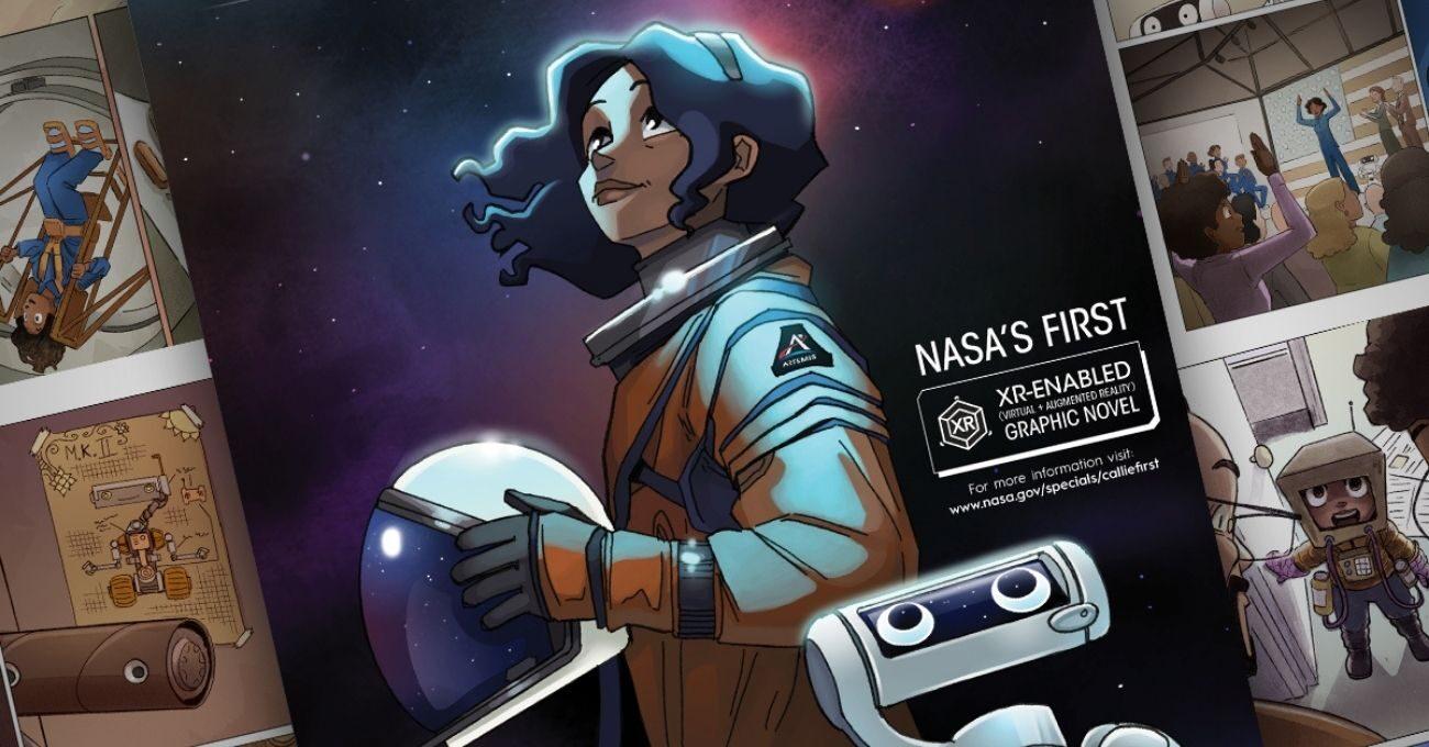 NASA Geleceğin Astronotlarına İlham Verecek İlk Çizgi Romanını Yayınladı