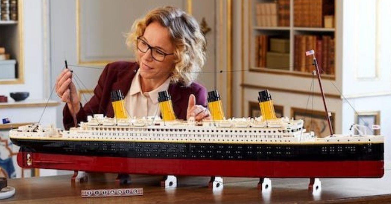 LEGO'dan Titanik Seti